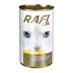 Puszka dla kota RAFI 415g z kurczakiem. Dobra jakość w korzystnej cenie.