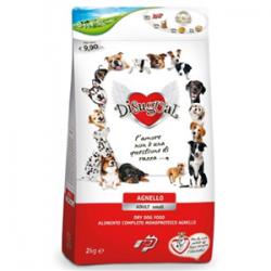 Disugual - Karma z JAGNIĘCINĄ dla psów ras małych. Monobiałkowa. Bardzo zdrowa, chętnie jedzona przez pieski.