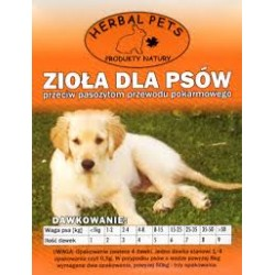 Herbal Pets - zioła na odrobaczanie dla psa