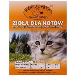 Herbal Pets - zioła na odrobaczanie dla kota