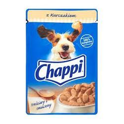 Chappi saszetka dla dorosłych psów wszystkich ras. 100g. Z kurczakiem.