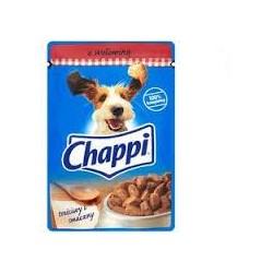 Chappi saszetka dla dorosłych psów wszystkich ras. 100g. Z wołowiną.