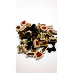 Mięsne treserki - mix smaków. Małe przysmaczki dla piesków. Jako nagroda bądź do tresury.