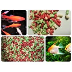 Pokarm dla ryb w oczkach, stawach i sadzawkach. Różna gramatura.