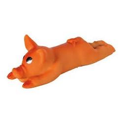 Zabawka świnka dla psa. Z lateksu. Wydaje dźwięki. Długość 13cm. TRIXIE.