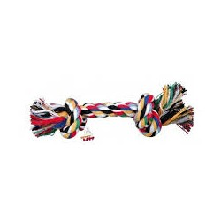 Zabawka sznurowa dla psa. Mieszanka bawełny. Długość 15cm. Różne kolory. TRIXIE.
