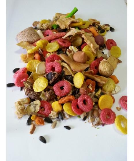 Karma dla królików, chomików, szynszyli, myszek, myszoskoczków, szczurków, świnek morskich. Owocowy sad.