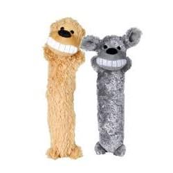 Zabawka pluszowa dla pieska - zwierzaczek. Długość 35cm. Z piszczałką.