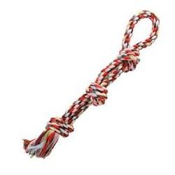 Zabawka sznur dla pieska. Wyjątkowa, trwała, naturalna i bezpieczna zabawka dla psa. Długość 55cm.