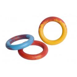 Zabawka dla psa ringo gumowe pełne. NIE TONIE. Średnica 16cm. PRODUKT  POLSKI.