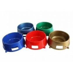 Miska dla zwierząt - plastikowa. Pojemność 0,25L. PRODUKT POLSKI.