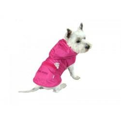 Płaszczyk dla psa. PRODUKT POLSKI. Różne rozmiary. Długość od 28cm do 40cm. Kolor różowy.