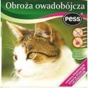 PESS obroża owadobójcza dla kotów. Zwalczanie pcheł, kleszczy i wszy bytujących na skórze i w sierści kotów.