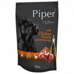 Dolina Noteci PREMIUM PIPER - karma mokra kurczakiem i ryżem w saszetce 500g. Dla psów wszystkich ras.