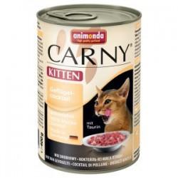 Animonda Carny KITTEN- karma mokra w puszce dla kotów. 400g. Mieszanka drobiowa.