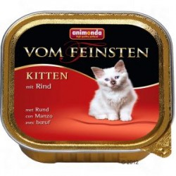 Animonda vom feinsten - karma mokra dla małych kotków. Z wołowiną. 100g.