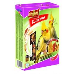Papuga Nimfa VITAPOL - karma pełnoporcjowa. 500g. Bogata w wyselekcjonowane, najlepszej jakości nasiona.