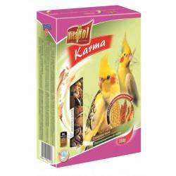 Papuga Nimfa VITAPOL - karma pełnoporcjowa. 1000g. Bogata w wyselekcjonowane, najlepszej jakości nasiona.