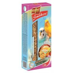 Papuga Falista VITAPOL - Kolby potrójne. Smakers w trzech smakach. Waga:130g.