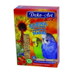 "Papuga Falista ""MAKKI"" DAKO-ART. Pełnoporcjowa karma. Waga: 500g."