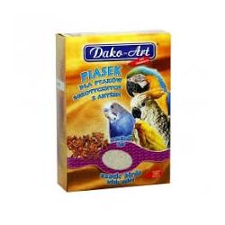 Piasek anyżowy DAKO-ART dla ptaków egzotycznych - papuga, kanarek, zeberka itp. Waga: 1,5kg.