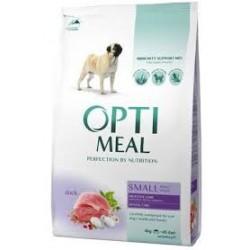 OPTI MEAL - karma sucha dla psa. Z kaczką. Troska o trawienie. Troska o zęby.