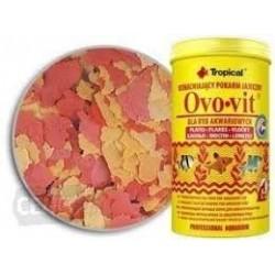 OVOVIT- wzmacniający pokarm jajeczny w formie płatków. Dla wszystkich ryb akwariowych. 250ml.