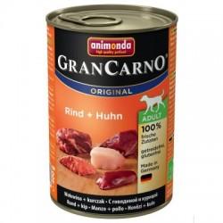 Animonda Grancarno-mokra karma dla psa zawierająca dużo mięsa oraz wysokowartościowych składników. Wołowina+kurczak.