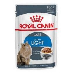 Saszetka dla kota ROYAL CANIN ULTRA LIGHT - karma dla kota, która zapobiega powstawaniu nadwagi. 85g