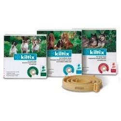 BAYER - Obroża przeciw pchłom i kleszczom KILTIX dla średnich psów. 53cm.