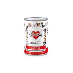 Disugual karma mokra z jagnięciną dla psa. Ponad 90% mięsa. Monobiałkowa. Bardzo zdrowa. 400g.