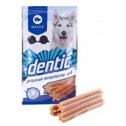Gwiazdki czyszczące zęby. Przysmak dentystyczny dla psa dbający o higienę ustną. 80g. Opakowanie zawiera 4 sztuki.