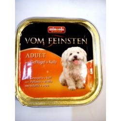 Animonda Vom Feinsten- tacka dla psa dorosłego z drobiem i cielęciną. Waga 150g.