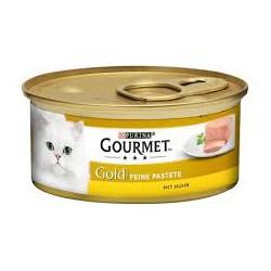 Gourmet Gold puszeczka dla kota 85g w musie - mokra karma z kurczakiem. Super jakość, super smak.