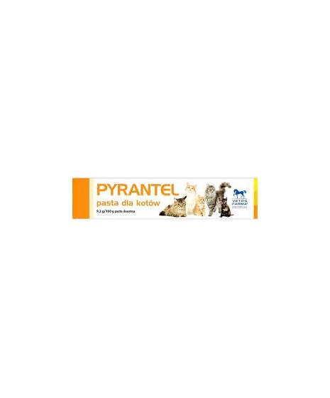 PYRANTEL- pasta na odrobaczenie dla kotów. 9,3%. Tubka 5g.