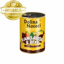 Dolina Noteci Premium SUPERFOOD - karma dla psów dorosłych kangur+wołowina. 400g
