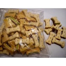 Ciasteczka dla małych i dużych psów . Kosteczki nadziewane mix.  Jako nagroda bądź smakołyk.