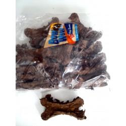 Kość skwarkowa wołowa  ciemna - przysmak dla psów.