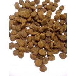 Purina- pełnoporcjowa karma dla szczeniąt z kurczakiem.