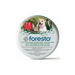 BAYER FORESTO Obroża przeciwpchelna mała 38cm dla psów i kotów do 8kg masy ciała.