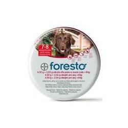 BAYER FORESTO - Obroża przeciwpchelna duża 70cm dla psów powyżej 8kg masy ciała.
