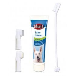 Pasta ze szczoteczkami do czyszczenia zębów dla psów. TRIXIE.