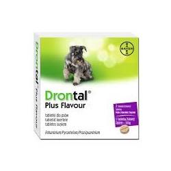 Tabletki na odrobaczenie dla psa DRONTAL.