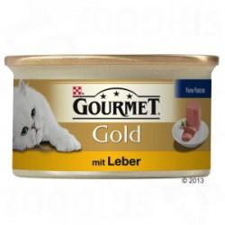 Gourmet Gold puszeczka dla kota 85g w musie - mokra karma z wątróbką. Super jakość, super smak.