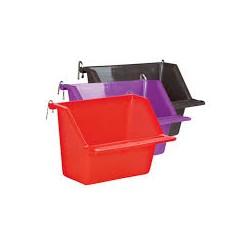 Karmidełko do klatki dla ptaków, zawieszane wewnątrz. Różne kolory.