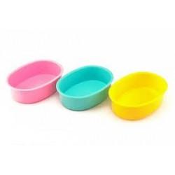 Miseczka dla chomika plastikowa. Rozmiar 8cm*10cm. Różne kolory.