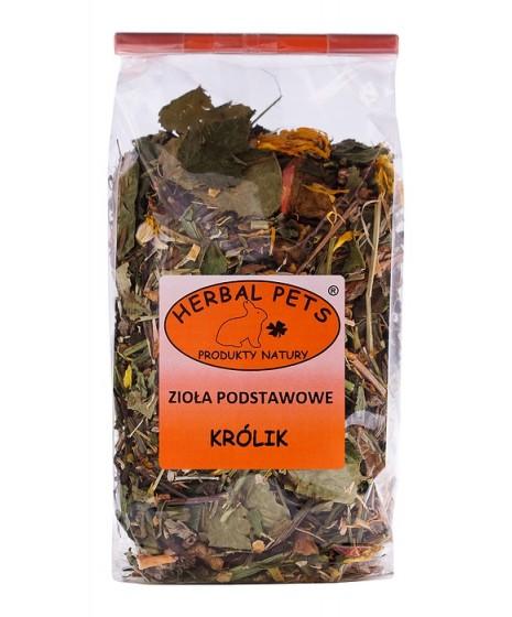 Królik zioła podstawowe HERBAL PETS 125g. Pyszna, zdrowa i naturalna przekąska.