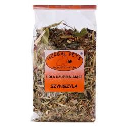 Szynszyla zioła uzupełniające HERBAL PETS 100g. Pyszna, zdrowa i naturalna przekąska.