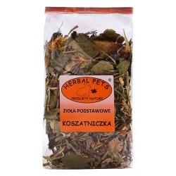 Koszatniczka zioła podstawowe HERBAL PETS 100g. Pyszna, zdrowa i naturalna przekąska.