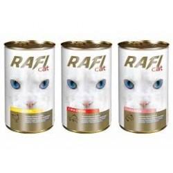 Puszka dla kota RAFI 415g z łososiem. Dobra jakość w korzystnej cenie.